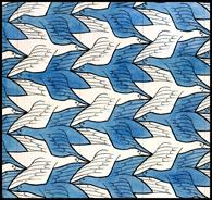 Escher Two Birds