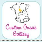 Custom baby bodysuit gallery