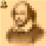 Pixelated Shakespeare
