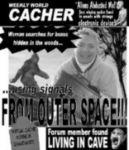 <b>The Weekly World Cacher<b>