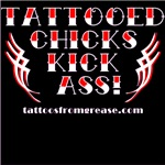 Tattooed Chicks Kick Ass!