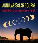 2010 Annular Solar Eclipse (design 2)