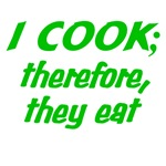The Cooking Philosopher (Green)