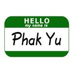 Hello My Name is Sticker (Phak Yu)