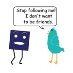 Stop Following Me (Twitter vs Facebook Parody)
