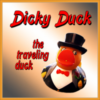 Dicky Duck, The Traveling Duck