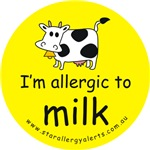 I'm allergic to milk-allergy alert