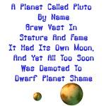Pluto's Lament Limerick