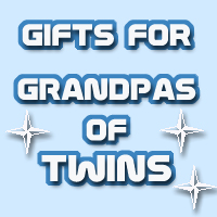 Gifts for GRANDFATHERS of TWINS