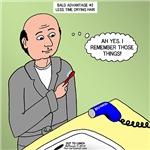 Bald Advantages No. 2
