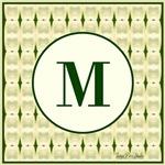 Tortue Vert Monogram