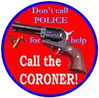 Call the Coroner Men's Clothing