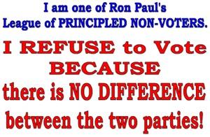 League of NON-Voters