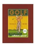Golf the ideal outdoor sport