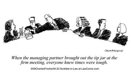 Tip Jar at Firm Meeting
