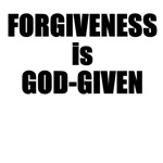 Forgiveness is God-Given