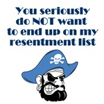 Resentment List