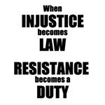 Resistance is a Duty