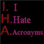 I Hate Acronyms