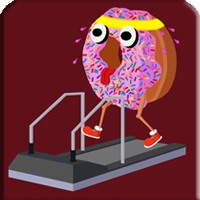 Doughnut on a Treadmill