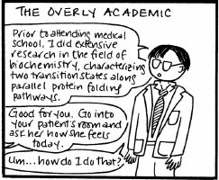 The Overly Academic