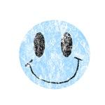 Vintage Blue Smiley 1