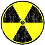 Vintage Radioactive Sign  1