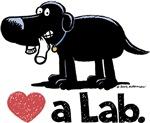 Love a Lab (Black)