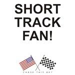 AMERICAN & CHECKERED FLAG<br />SHORT TRACK FAN