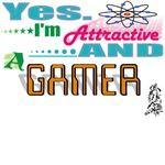 Attractive Gamer
