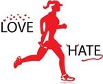 Ladies Love Hate Running