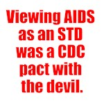 Viewing AIDS as an STD was a CDC pact with the dev
