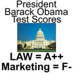 Obama Test Scores