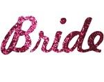 Bride Pink Glitter
