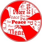 Red Dove of Peace