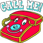 Call Me Toy Telephone T-Shirts & Gifts