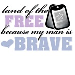 Home of the Free Dogtags