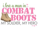 I love a man in combat boots