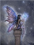 Little Blue Moon Fairy Fantasy Art