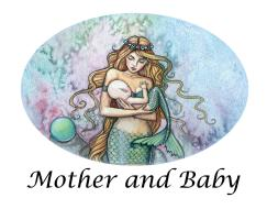 Mother and Baby Art