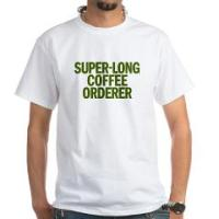 THE SUPER-LONG COFFEE ORDERER