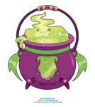 Kawaii Monster Cauldron