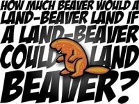 HOW MUCH BEAVER...
