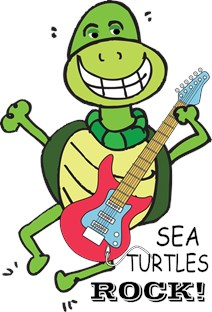 SEA TURTLE ROCKS