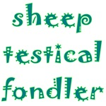 Sheep Testical Fondler