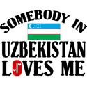 Somebody In Uzbekistan T-shirt