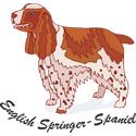 English Springer Spaniel T-shirt, Spaniel T-shirts