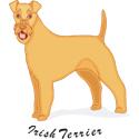 Irish Terrier T-shirt, Irish Terrier T-shirts