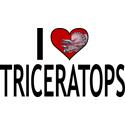 I Love Triceratops