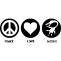 Peace Love Nessie
